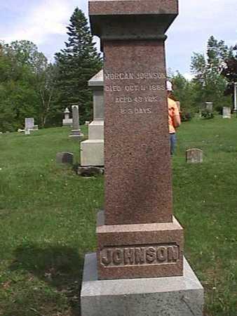 JOHNSON, MORGAN - Henry County, Iowa   MORGAN JOHNSON