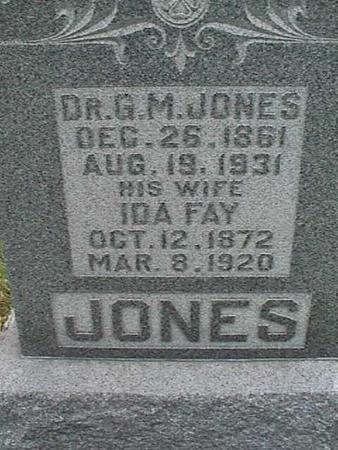 JONES, G. M. - Henry County, Iowa | G. M. JONES