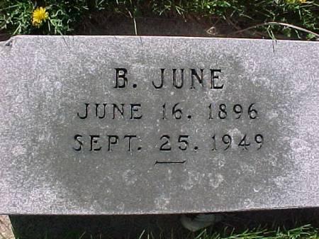 JUNE, B. - Henry County, Iowa | B. JUNE