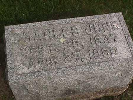 JUNE, CHARLES - Henry County, Iowa | CHARLES JUNE