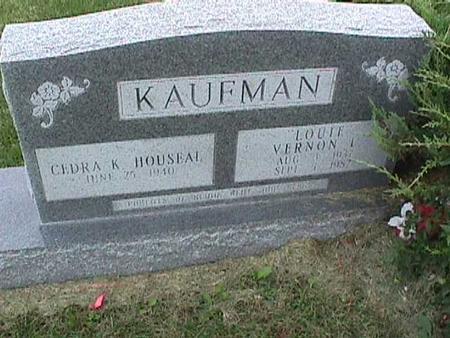 KAUFMAN, CEDRA - Henry County, Iowa | CEDRA KAUFMAN