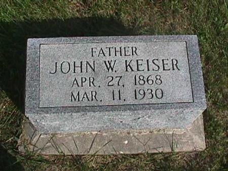KEISER, JOHN - Henry County, Iowa | JOHN KEISER