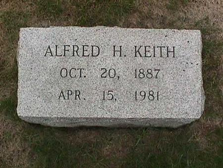 KEITH, ALFRED H. - Henry County, Iowa | ALFRED H. KEITH