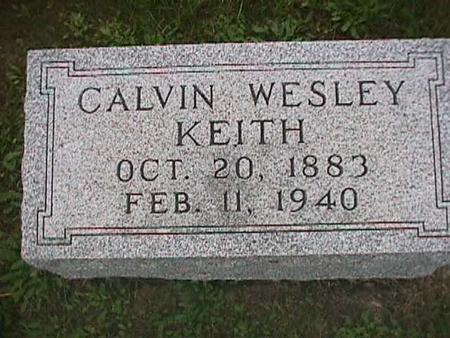 KEITH, CALVIN WESLEY - Henry County, Iowa | CALVIN WESLEY KEITH
