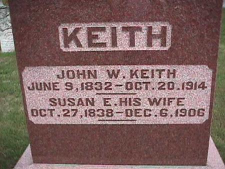 KEITH, JOHN - Henry County, Iowa | JOHN KEITH
