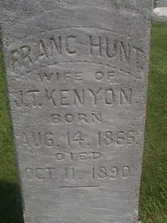 KENYON, FRANC - Henry County, Iowa | FRANC KENYON