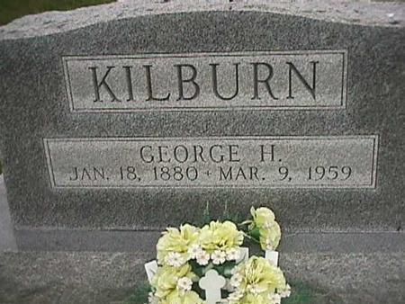 KILBURN, GEORGE H. - Henry County, Iowa   GEORGE H. KILBURN