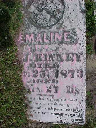 KINNEY, EMALINE - Henry County, Iowa | EMALINE KINNEY