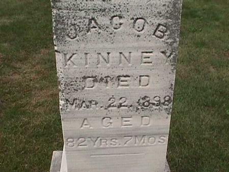 KINNEY, JACOB - Henry County, Iowa | JACOB KINNEY