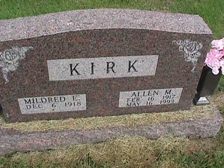 KIRK, MILDRED E - Henry County, Iowa | MILDRED E KIRK
