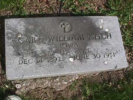 KITCH, CARL WILLIAM - Henry County, Iowa   CARL WILLIAM KITCH