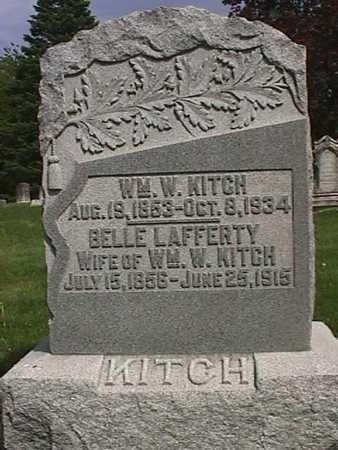 KITCH, BELLE - Henry County, Iowa | BELLE KITCH