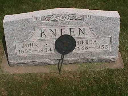 KNEEN, BERDA - Henry County, Iowa | BERDA KNEEN