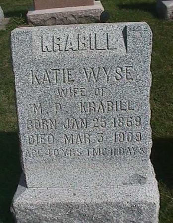 WYSE KRABILL, KATIE - Henry County, Iowa | KATIE WYSE KRABILL