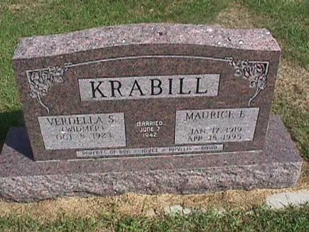KRABILL, VERDELLA S. - Henry County, Iowa | VERDELLA S. KRABILL