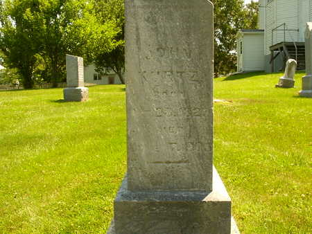 KURTZ, JOHN - Henry County, Iowa   JOHN KURTZ