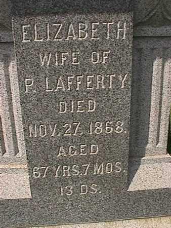 LAFFERTY, ELIZABETH - Henry County, Iowa   ELIZABETH LAFFERTY