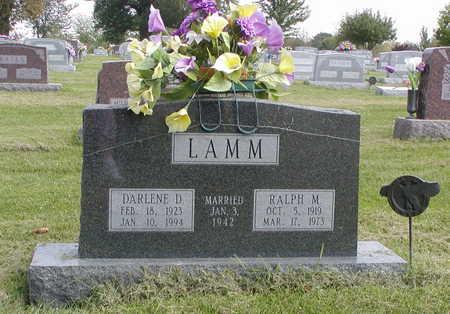 LAMM, DARLENE D - Henry County, Iowa | DARLENE D LAMM