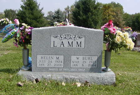 LAMM, W BURL - Henry County, Iowa | W BURL LAMM