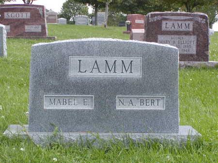 LAMM, MABEL E - Henry County, Iowa | MABEL E LAMM