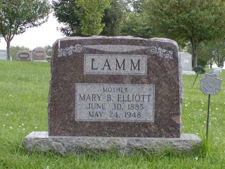ELLIOTT LAMM, MARY B - Henry County, Iowa | MARY B ELLIOTT LAMM