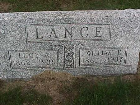 LANCE, LUCY A. - Henry County, Iowa | LUCY A. LANCE