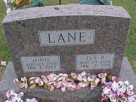 LANE, JOHN - Henry County, Iowa | JOHN LANE