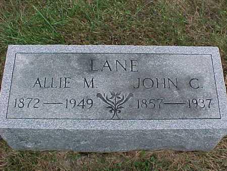 LANE, ALLIE - Henry County, Iowa | ALLIE LANE