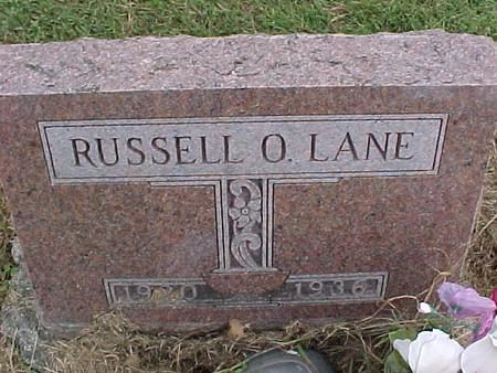 LANE, RUSSELL O. - Henry County, Iowa | RUSSELL O. LANE