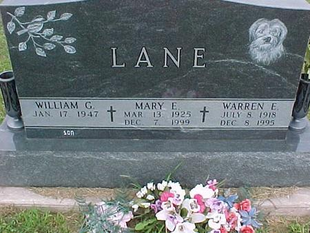 LANE, MARY E. - Henry County, Iowa | MARY E. LANE