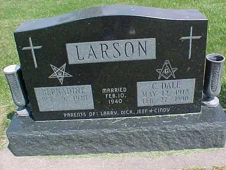 LARSON, BERNADINE - Henry County, Iowa | BERNADINE LARSON