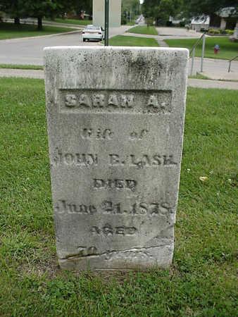 LASH, SARAH A. - Henry County, Iowa | SARAH A. LASH