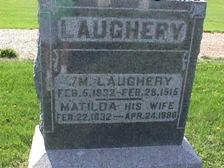 LAUGHERY, MATILDA - Henry County, Iowa | MATILDA LAUGHERY