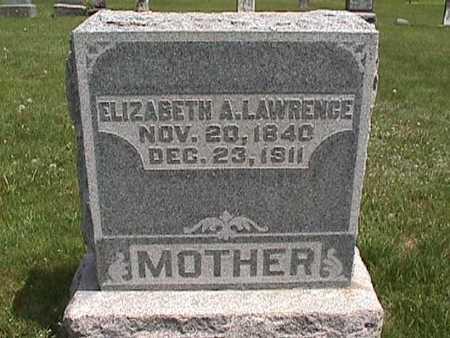 LAWRENCE, ELIZABETH A. - Henry County, Iowa | ELIZABETH A. LAWRENCE