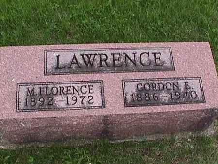 LAWRENCE, GORDON - Henry County, Iowa | GORDON LAWRENCE