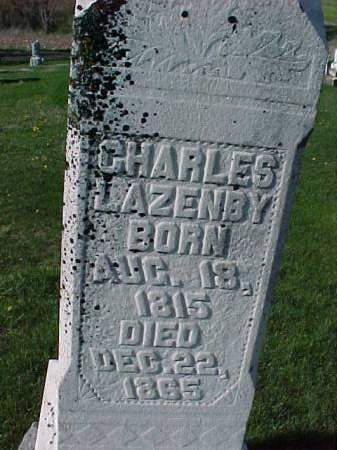 LAZENBY, CHARLES - Henry County, Iowa | CHARLES LAZENBY