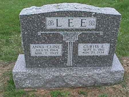 CLINE LEE, ANNA - Henry County, Iowa | ANNA CLINE LEE
