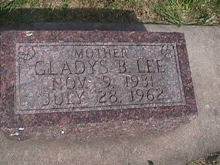 LEE, GLADYS B. - Henry County, Iowa | GLADYS B. LEE