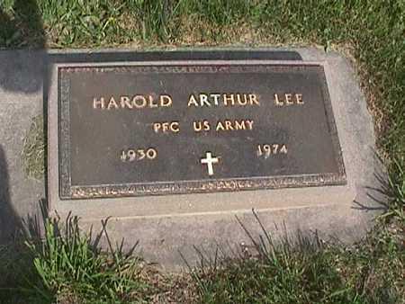LEE, HAROLD ARTHUR - Henry County, Iowa | HAROLD ARTHUR LEE