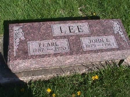 LEE, JOHN E. - Henry County, Iowa | JOHN E. LEE