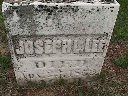 LEE, JOSEPH L. - Henry County, Iowa | JOSEPH L. LEE