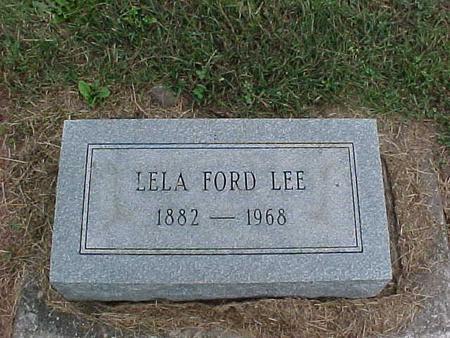 LEE, LELA - Henry County, Iowa | LELA LEE