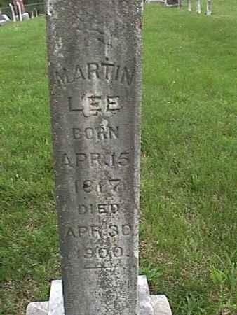 LEE, MARTIN - Henry County, Iowa   MARTIN LEE