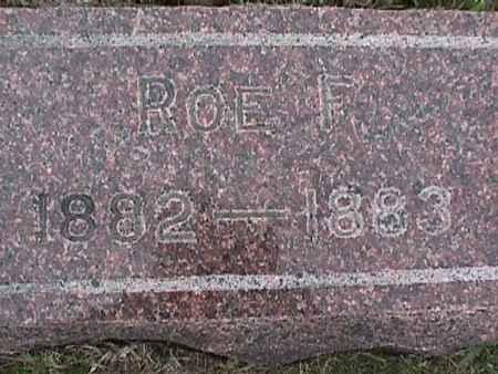 LEE, ROE F. - Henry County, Iowa | ROE F. LEE