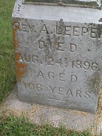 LEEPER, A. - Henry County, Iowa   A. LEEPER