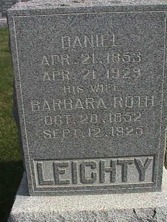 ROTH LEICHTY, BARBRARA - Henry County, Iowa | BARBRARA ROTH LEICHTY