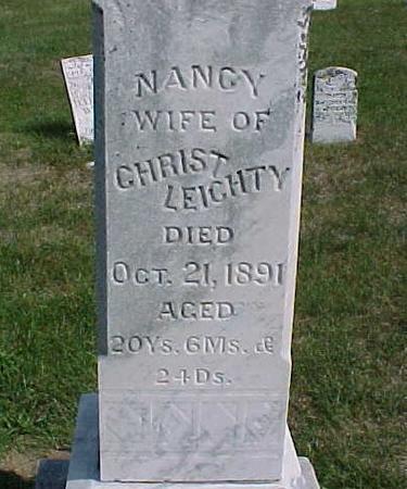 LEICHTY, NANCY - Henry County, Iowa | NANCY LEICHTY