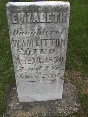 LITTON, ELIZABETH - Henry County, Iowa | ELIZABETH LITTON