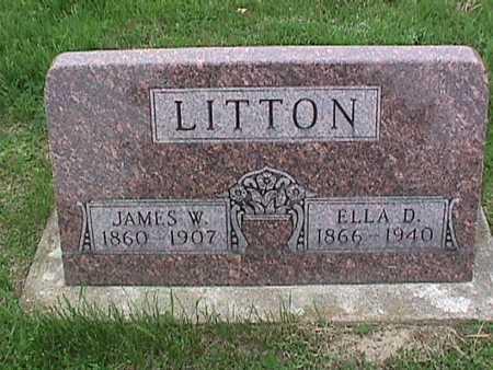 LITTON, ELLA - Henry County, Iowa | ELLA LITTON
