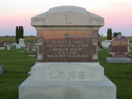 LONG, ALBERT E - Henry County, Iowa | ALBERT E LONG